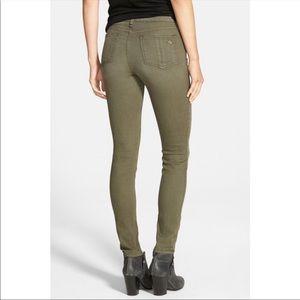Rag & Bone $225 Olive Skinny Jeans 28